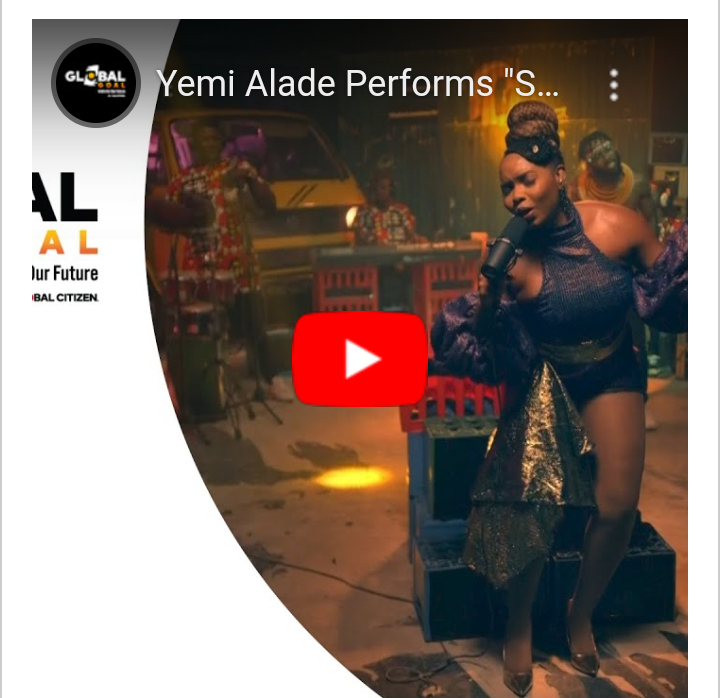 """Watch! Yemi Alade Thrills with """"Shekere"""" for Global Citizen Concert #Arewapublisize"""