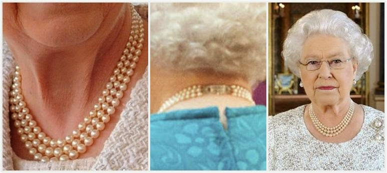 c433b3b993ec2 From Her Majesty's Jewel Vault: The Queen's Three Strand Pearl Necklaces