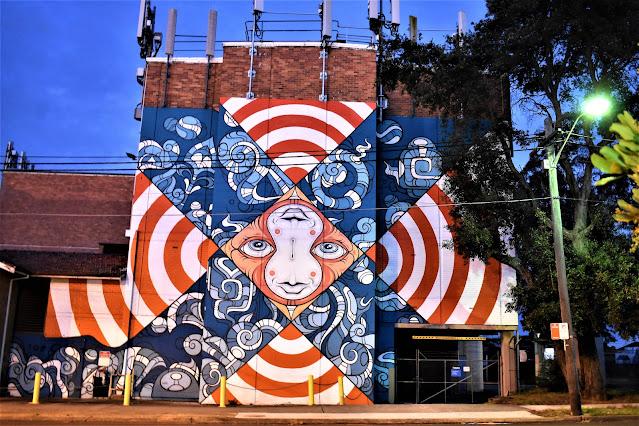 Revesby Street Art   Phibs
