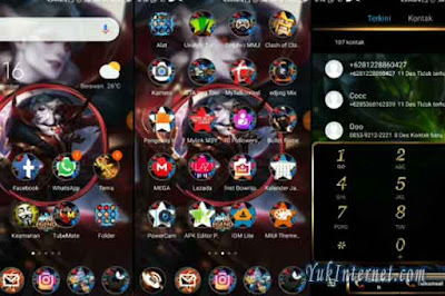 tema xiaomi mobile legends and locksreen
