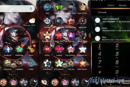 3 Tema Xiaomi Mobile Legends Format .Mtz Paling Laris