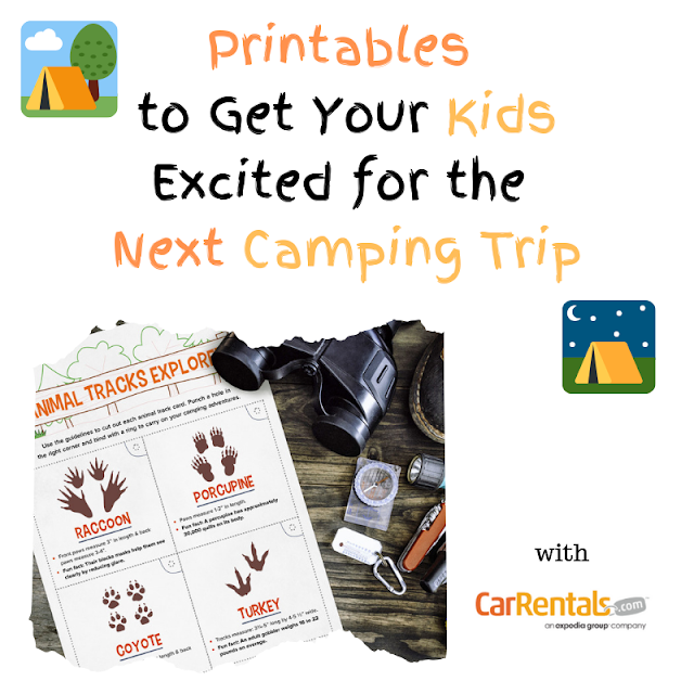 The perfect printables for your next camping trip - free camping printables