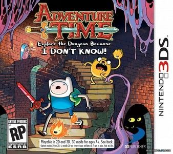 Rom Adventure Time Explore the Dungeon Because I Don't Know! 3DS