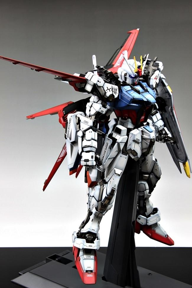 GUNDAM GUY: PG 1/60 Aile Strike Gundam - Painted Build
