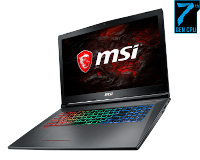MSI GF72 7REDriver Download for Windows 10 64-bit: