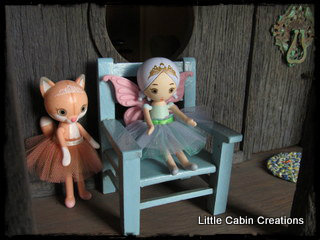 Quot Make Do Dolls Quot Finished Fairy Dollhouse 2 Hat S Off To