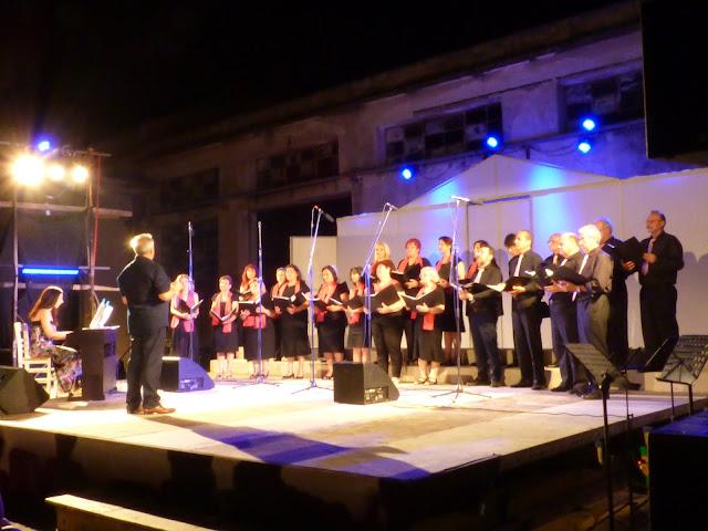 """Η Δημοτική χορωδία Επιδαύρου συμμετείχε  στην εκδήλωση με τίτλο """"ΜΟΥΣΙΚΕΣ ΡΙΜΕΣ""""."""