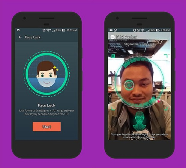 Amankan Smartphone Kamu Dengan Mengunci dan Membuka Aplikasi Dengan Wajah Kamu