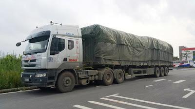 xe quá tải