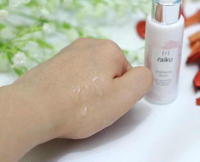 Raiku Brightening Serum Packaging