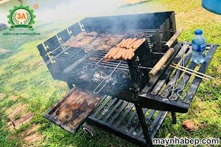 bếp nướng điện ngoài trời
