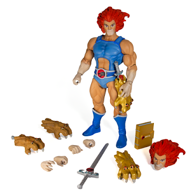 Ultimate Thundercats Action Figures Wave 1 by Super7 - Lion-O