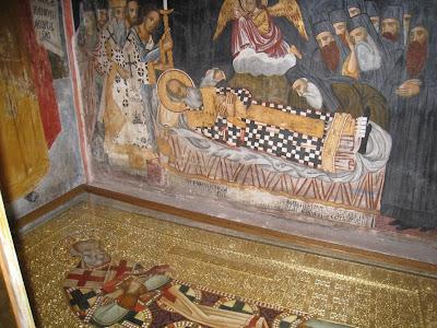 Αποτέλεσμα εικόνας για λειψανα αγιου νηφωνος διονυσιου