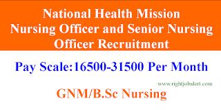 GNM BSc Nursing Nursing Officer Jobs- 31500 salary
