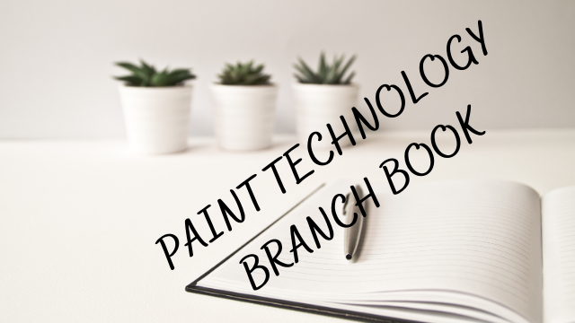 Paint technology common book