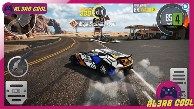 تحميل لعبة CarX Drift Racing 2 MOD للأندرويد من الميديا فاير