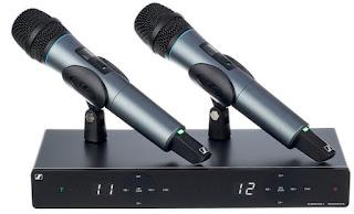 Noleggio radiomicrofono doppio Sennheiser