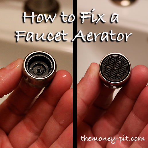 Fixing a Faucet Aerator: You CAN be a DIY\'r too! - The Kim Six Fix