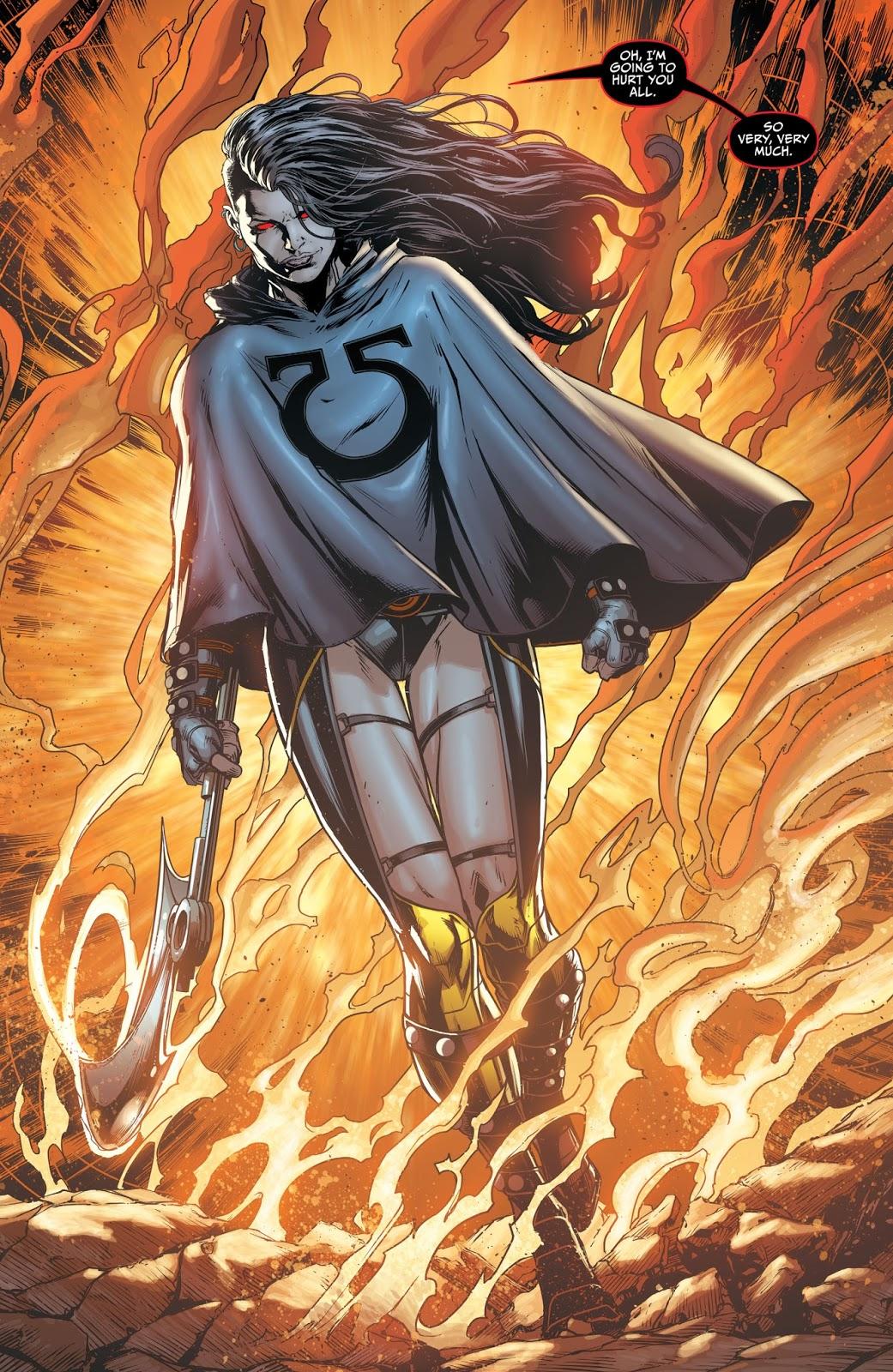 Anime Feet: Justice League Darkseid War: Grail