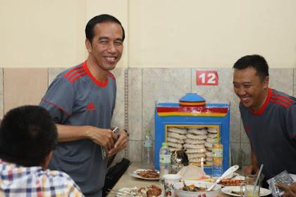 Gile..Segini Biaya sekali makan Rombongan Jokowi Saat di Restoran!