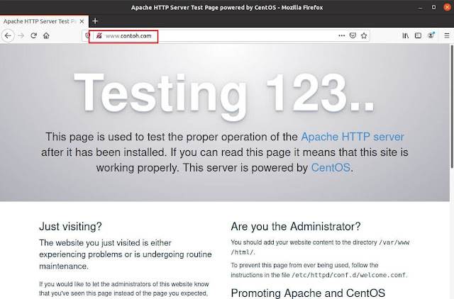 cara, install, dan, konfigurasi, DNS Server, di, Centos 7