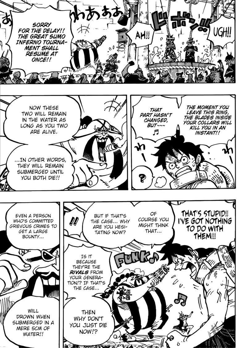 One Piece Manga Chapter 944 - Image 015