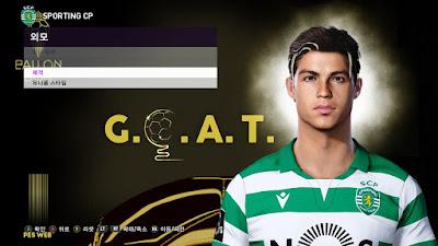 PES 2020 Faces Cristiano Ronaldo by PESWEB