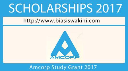 Amcorp Study Grant 2017