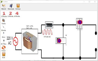 kesalahan dalam pemasangan dioda