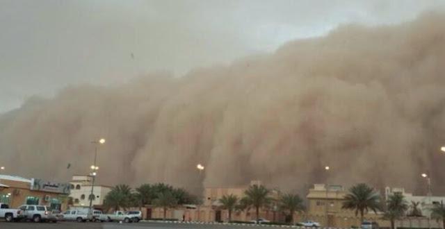 Astagfirullah, Arab Saudi Dilanda Badai Dahsyat, 6 Bandara Sempat Ditutup