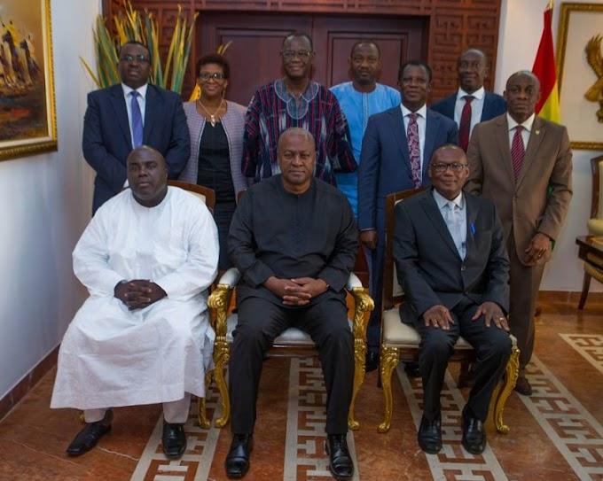 Mahama swears in Ghana EXIM Bank board