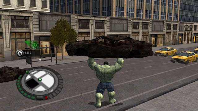 تحميل لعبه الرجل الاخضر الخارق The Incredible hulk كامله