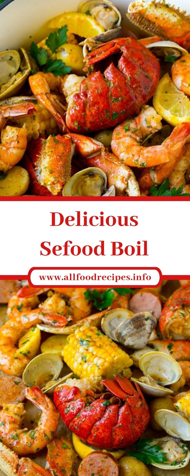 Delicious Sefood Boil