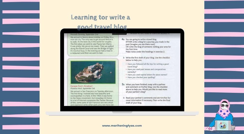 membandingkan 2 travel blog