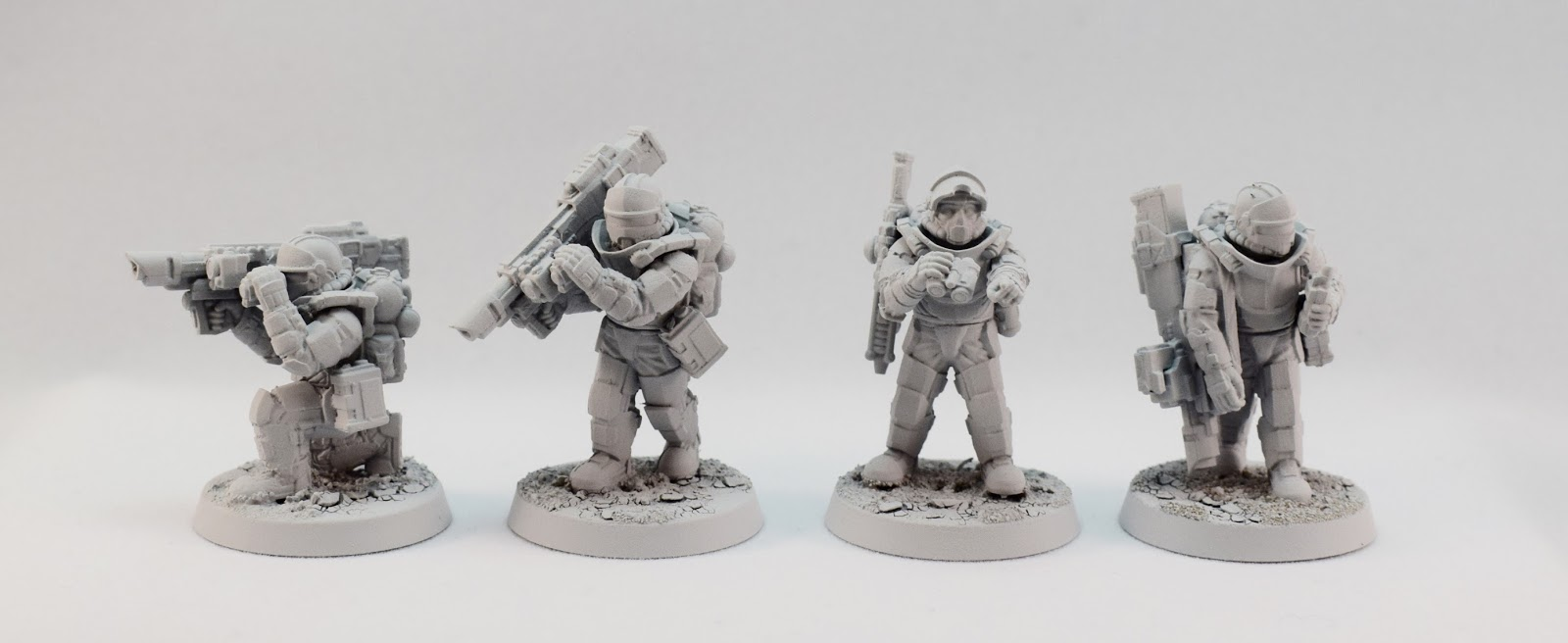 miniatures of the north anvil industry regiments heavy weapons