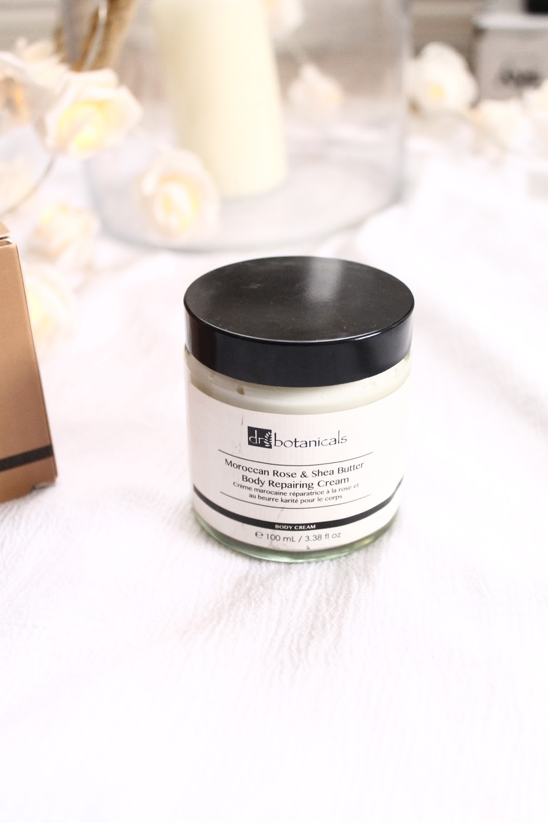 Moroccan rose and shea butter body cream
