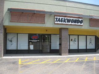The front of the lakewood taekwondo school martial arts school