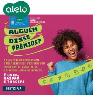 Cadastrar Promoção Alguém Disse Prêmios Alelo 2020 2021 - Prêmios Até 500 Reais