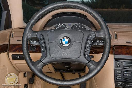 Une BMW 740i de 1997 à vendre avec seulement 255 Kilomètres