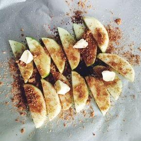 Foil Pack Cinnamon Apples