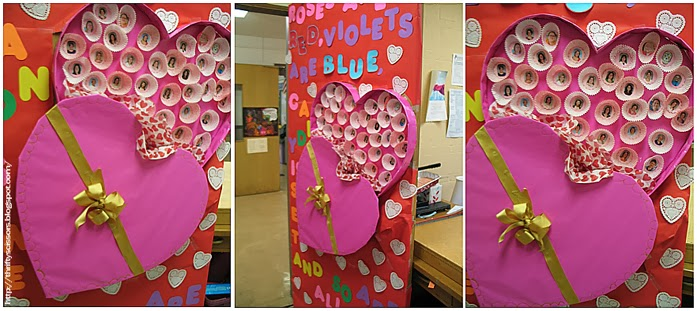 Valentine S Day Classroom Decoration Ideas ~ A conversational heart bulletin board thrifty scissors