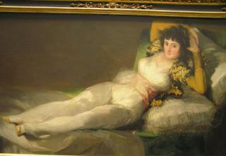 La maja vestida de Goya. Museo del Prado, Madrid.