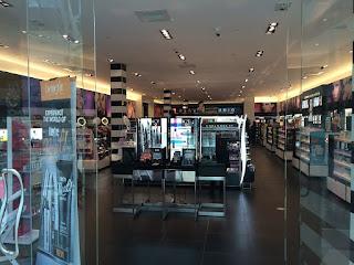 cosmetics shopping