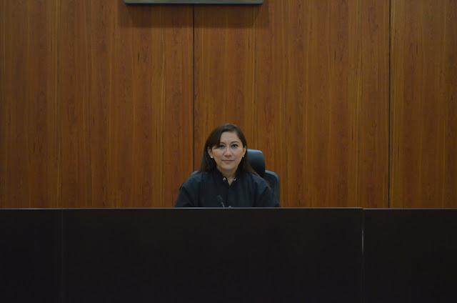 Jueza de Control Blanca Beatriz Bonilla González