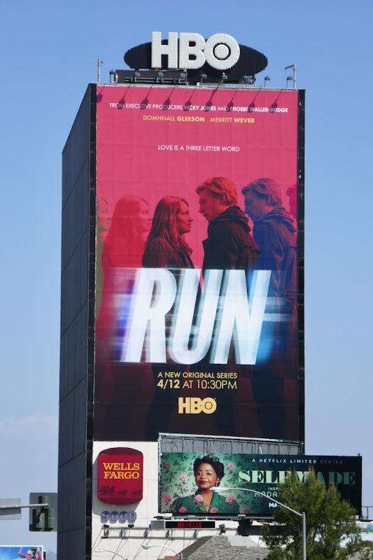 Giant Run series launch billboard