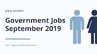 Govt Jobs 2019
