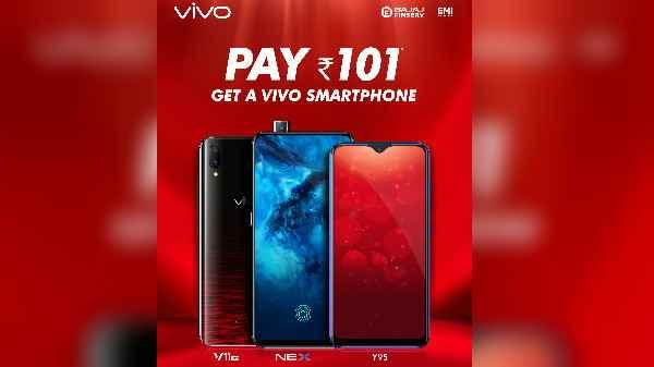 Vivo's Diwali offer, take home new Vivo smartphone for Rs 101