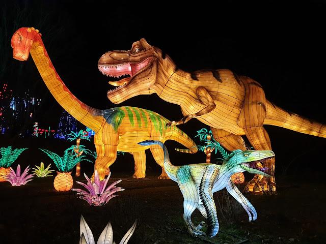 Festival Lanternes Gaillac Blog Hélidée Dinosaures