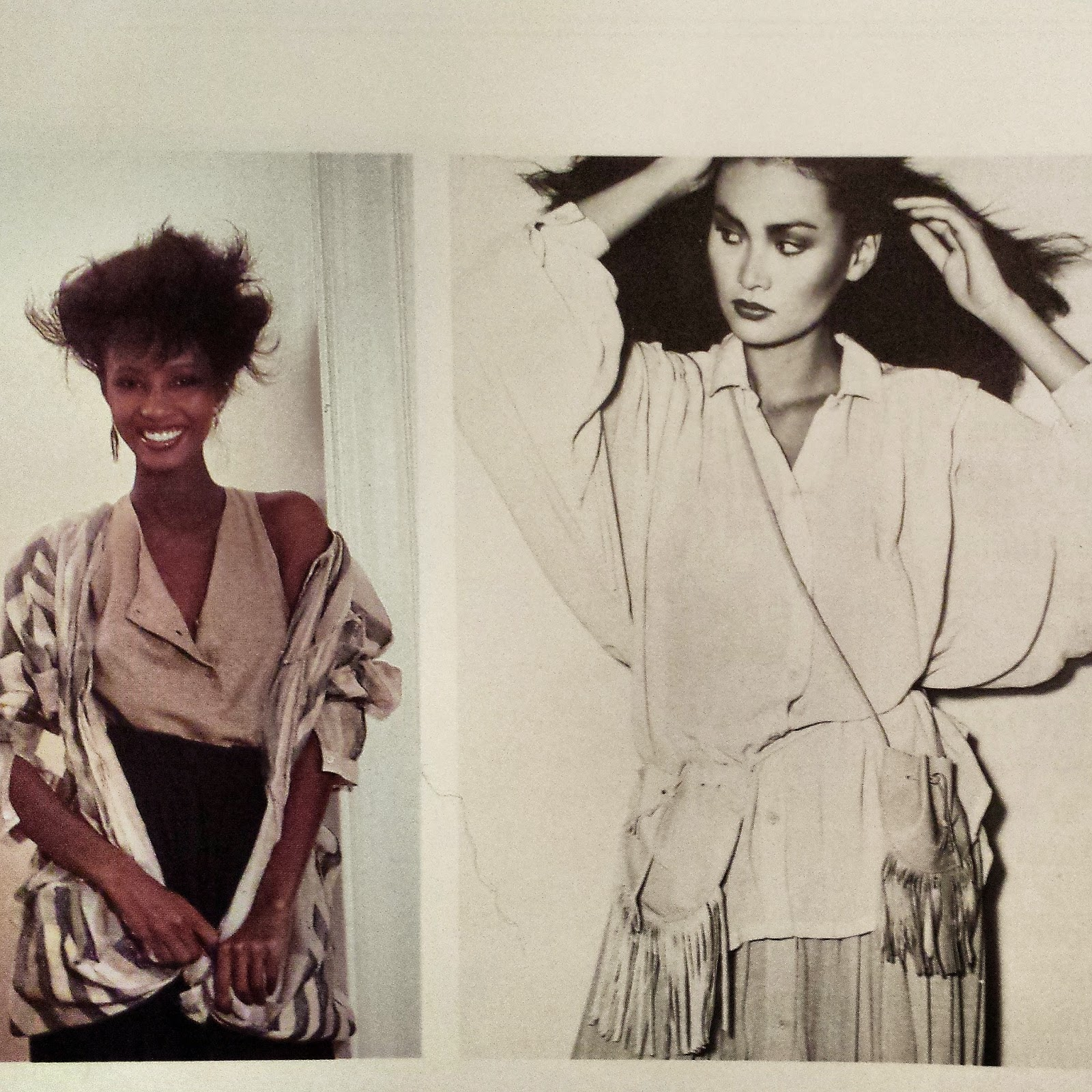 "The chic 1970s fashion. Photo from the book ""WomanStyle - your personal guide to timeless fashion"" by Leah Feldon (1979)"