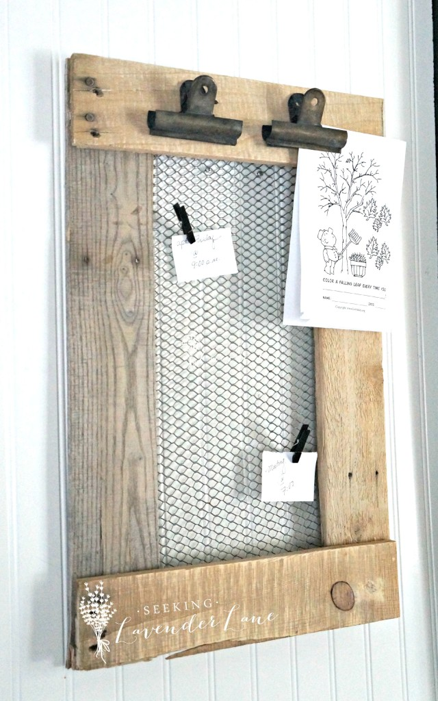 DIY farmhouse message board, farmhouse, diy